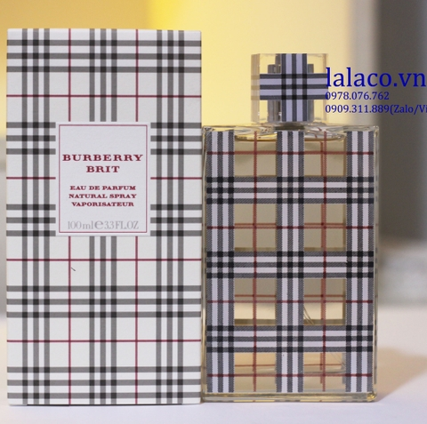 Nước hoa Nữ Burberry Brit For Women EDP 100ml
