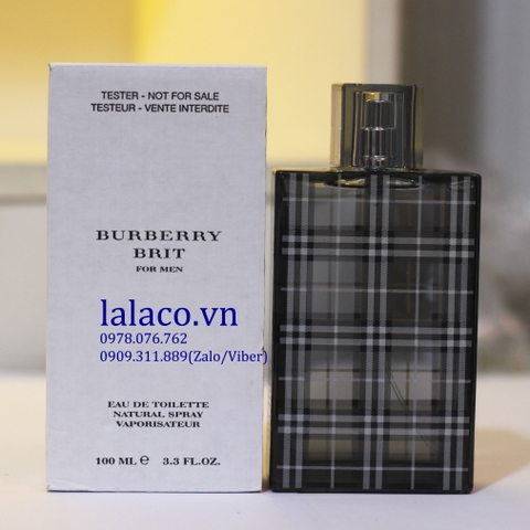 Nước Hoa Tester Burberry Brit For Him 100ml