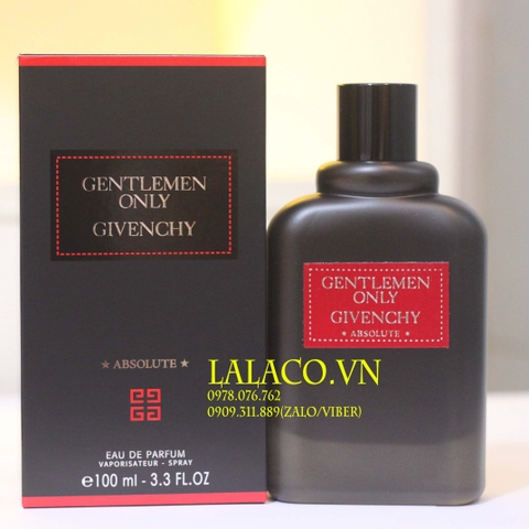 Nước hoa Nam Givenchy Gentlemen Only Absolute 100ml