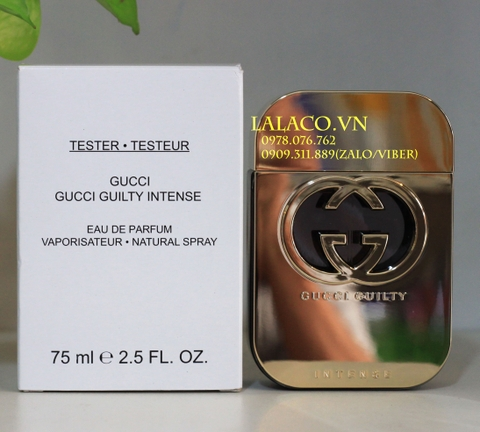 Nước hoa Tester Gucci Guilty Intense EDP 75ml
