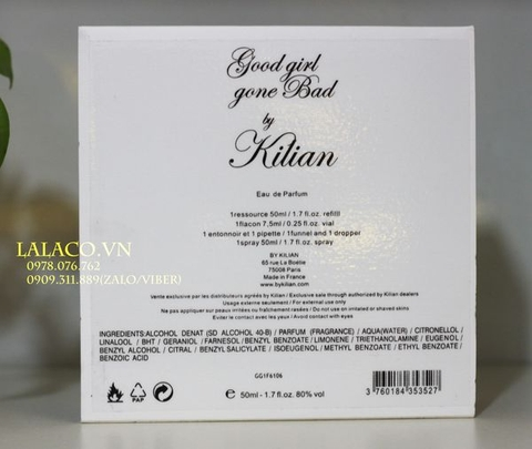 Bộ Nước hoa Refill Kilian Good Girl Gone Bad 50ml