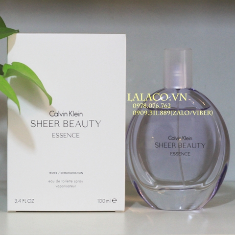 Nước hoa Nữ Tester Calvin Klein Sheer Beauty Essence 100ml