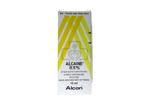Alcaine ophthalmic suspension 0.5% 15 ml