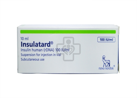 Insulatard 100IU/ml 10ml