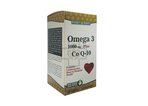 Omega 3 100mg Plus CoQ10