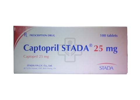 Captopril 25mg STADA