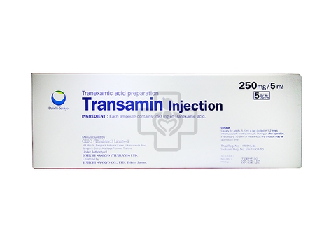 Transamin Injection 250mg/5ml