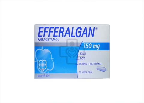 Efferalgan 150mg Suppositories