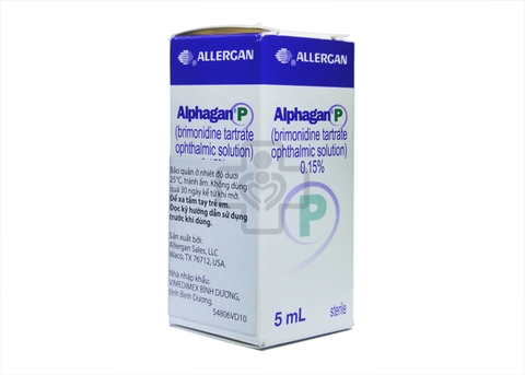 Alphagan P ophthalmic suspension 0,15% 5ml