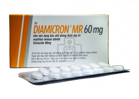Diamicron MR 60mg