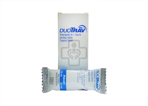 DuoTrav Eye Drops 2,5ml  Bak Free