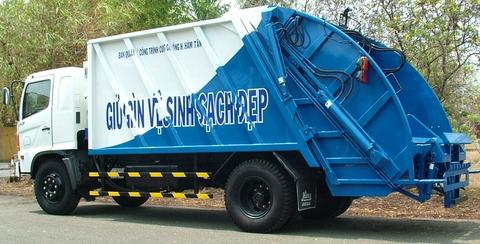 Xe cuốn ép rác (500 FG)