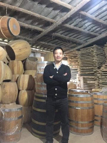 giá bán thùng gỗ sồi ngâm rượu