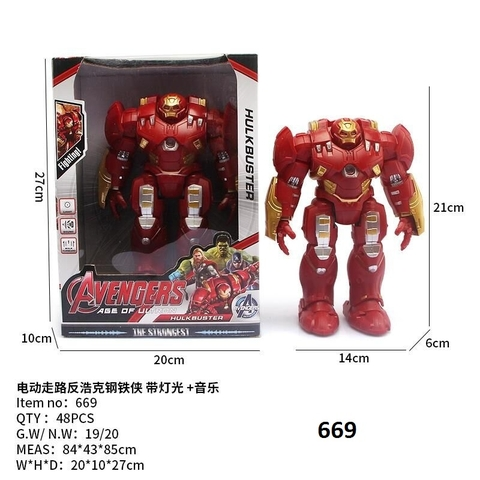 Robot Super Iron Man 669