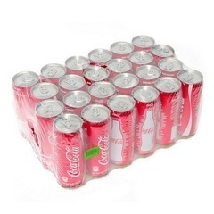 Cocacola Zero sleek can lon 330ml