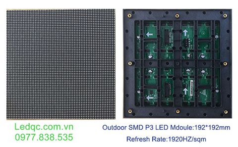 Module led P3 full outdoor ( KT 192*192 )