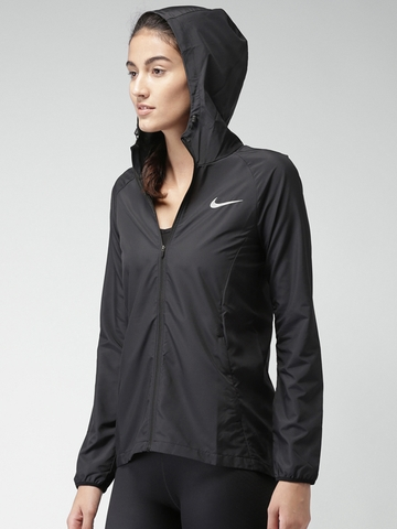 Áo Khoác Nữ Nike Essential Hooded Running Water Resistant Jacket