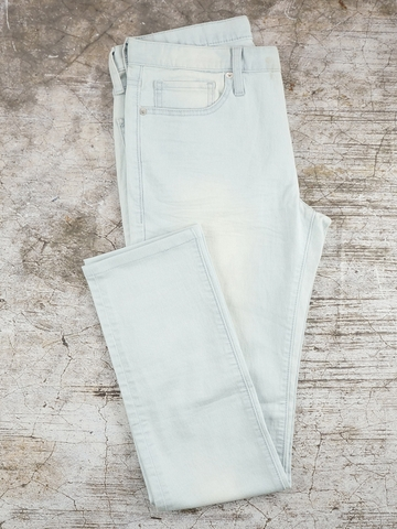 Quần Jeans Nam G.U Bleach Wash Supper Skinny Jeans