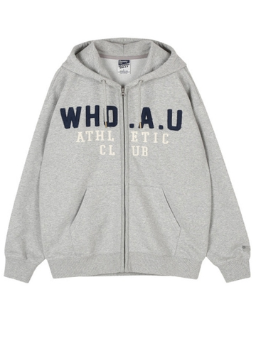 Áo Khoác Nam Who.A.U Overfit original patch hood zip up