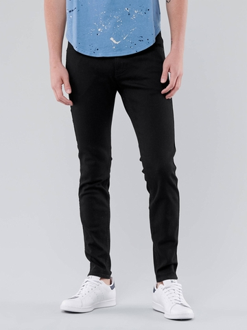 Quần Jeans Nam Hollister Advanced Skinny No Fade Jeans