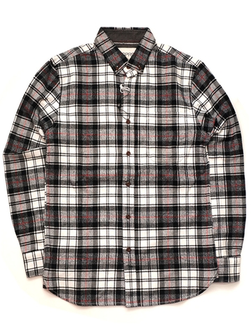 ÁO SƠ MI ESPRIT SLIM FIT FLANNEL PLAID SHIRT