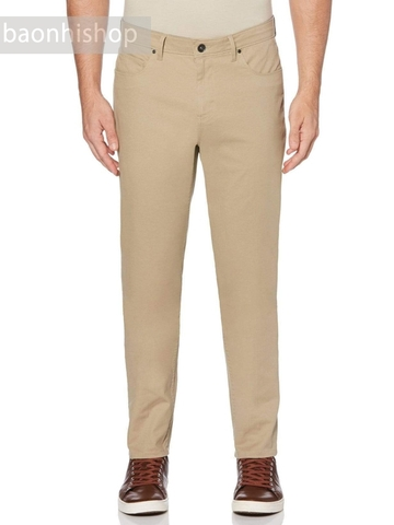 Quần Kaki Perry Ellis Slim Fit Stretch 5 Pocket Pants