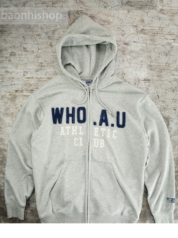 Áo Khoác Who.A.U Overfit original patch hood zip up
