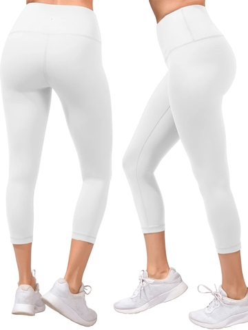 Quần Tập Legging 90 Degree By Reflex High Waist Capris