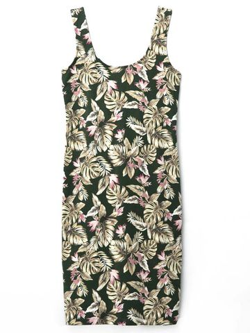 Đầm Forever21 Leafs Dress