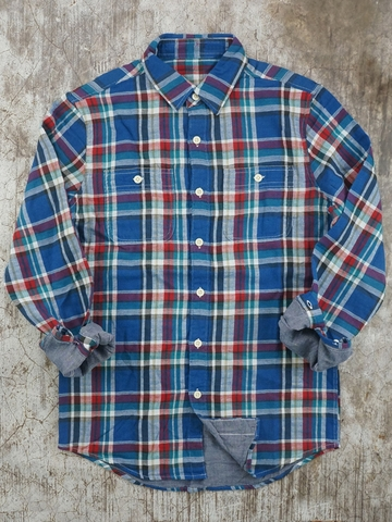 Áo Sơ Mi Nam Ca Rô AE PLAID FLANNEL WORK SHIRT