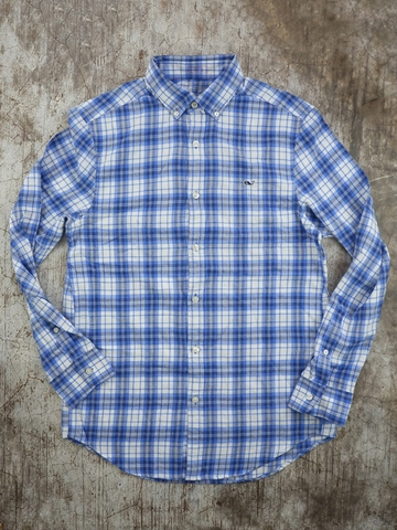 Áo Sơ Nam Ca Rô Vineyard Vines Soft Flannel Plaid Shirt