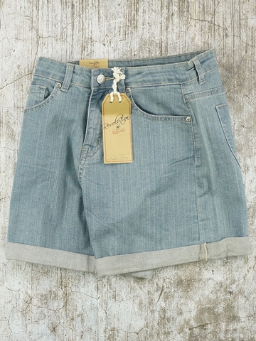 Quần Short Revolution Revolt High Waisted Denim Shorts