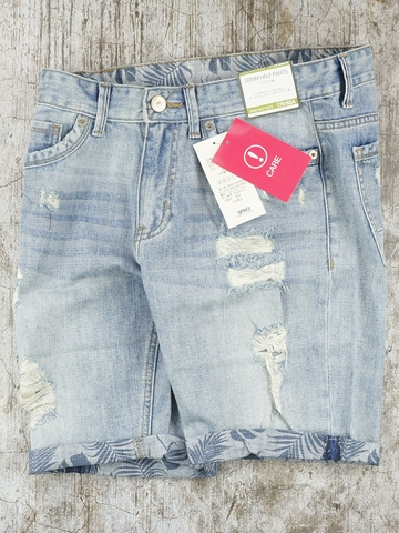 Quần Short Nam SPAO Denim Shorts