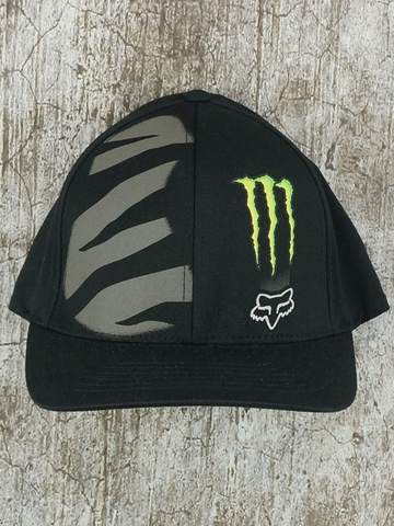 NÓN BÍT ĐUÔI FOX RACING MONSTER ENERGY ZEBRA