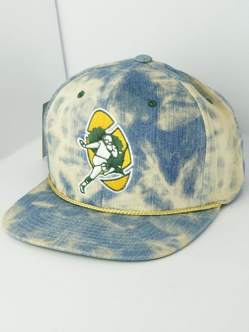Mũ Nón Snapback Mitchell And Ness NBA Acid Wash Denim Snapback