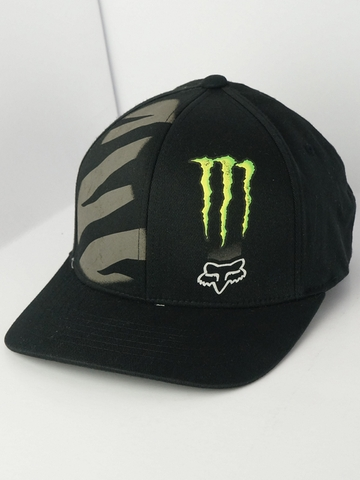 Mũ NÓN BÍT ĐUÔI FOX RACING MONSTER ENERGY ZEBRA