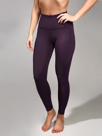 Quần Legging 90 Degree Side Pockets High Waist 7/8 Ankle Legging