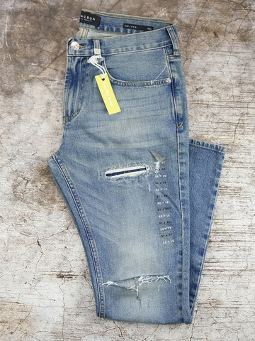 Quần Jeans Nam PacSun Rebel Tour Slim Destroyed Jeans