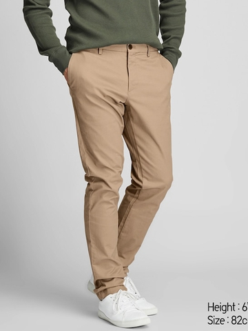 Quần Kaki MEN Slim Fit Chino Flat Front Pants | UNIQLO