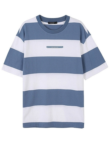 Áo Thun TBJ Unisex Boxed Fit Stripe Tee