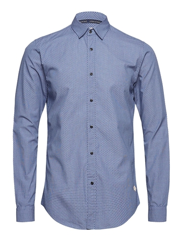 Áo Sơ Mi SCOTCH & SODA  Chic Shirt With Mini Jacquard Pattern