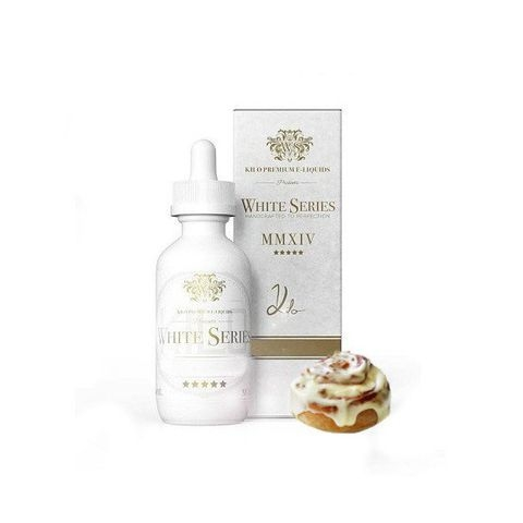 Cinnamon Roll E Liquid by Kilo White Series 60ml