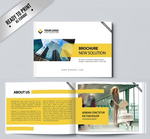 15 Free Corporate BiFold and Trifold Brochure Templates - Free Download Now