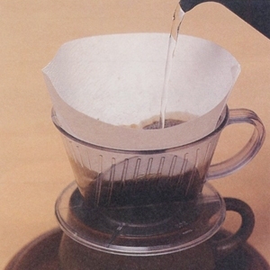 Base paper for coffee filter