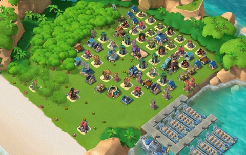 11)  Boom beach level 60, Name change : Available, Power powders 863