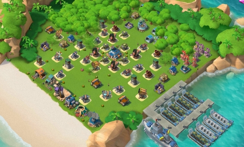 13)  Boom beach level 56, Name change : Available, Power powders 651