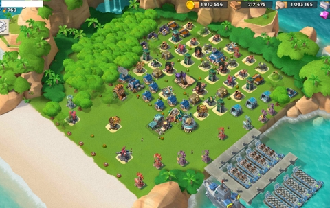 3)  Boom beach level 55, Name change : Available, Power powders 343