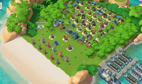 E30)  Boom beach level 60, Name change : Available, Power powders 1301
