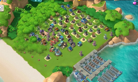 7)  Boom beach level 56, Name change : Available, Power powders 1214