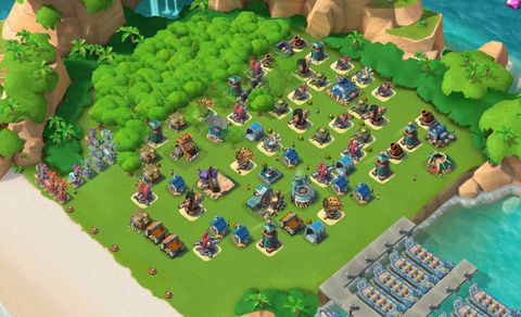 E14)  Boom beach level 61, Name change : Available, Power powders 848